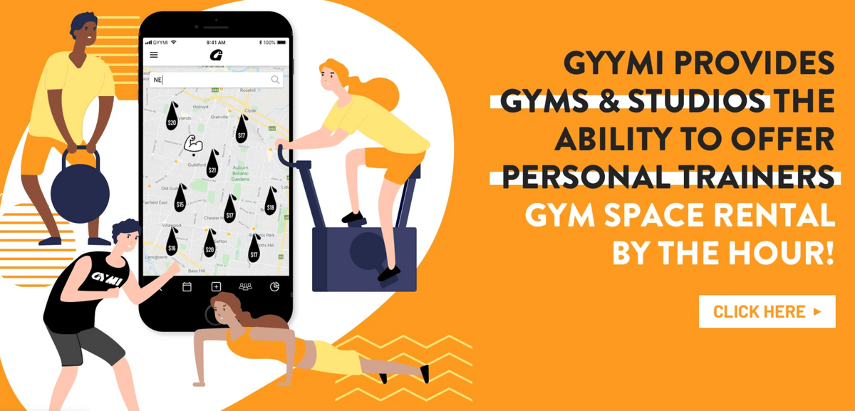 GYYMI website for all your fitness business needs