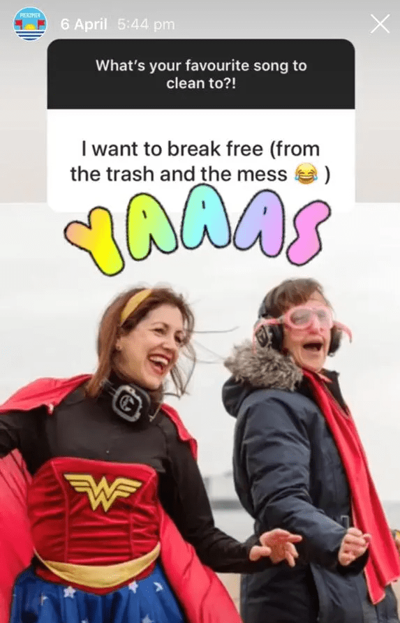 I Want To Break Free (from the trash and mess)
