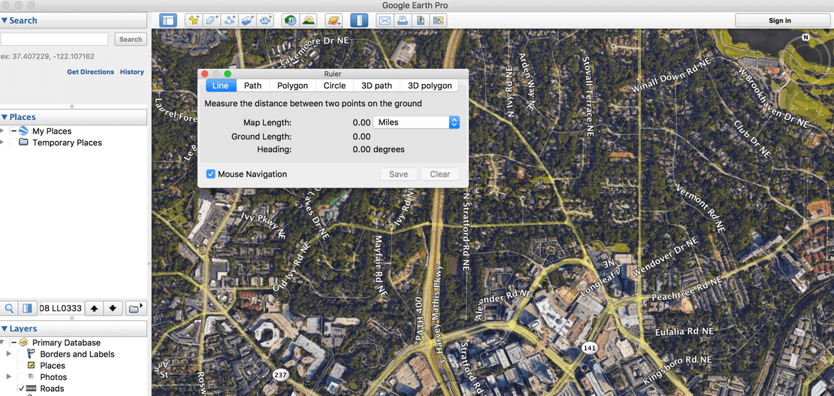 Fastest Way to Measure Property Boundaries in Google Earth