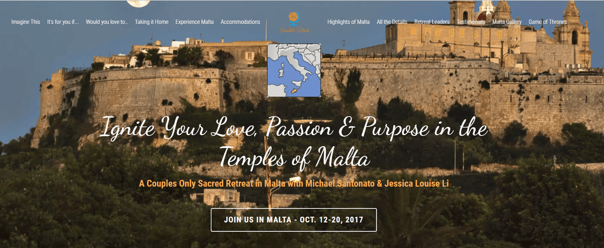 Sacred Malta Retreat