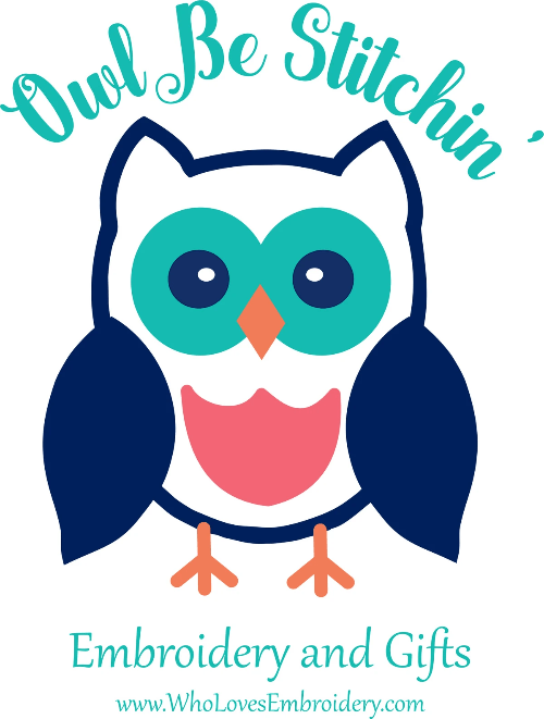 Owl Be Stitchin' Embroidery and Gifts I Personalized Gift Ideas
