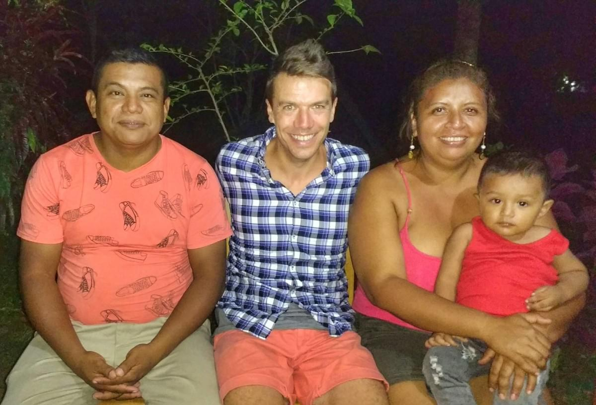 Photo with Ometepe family