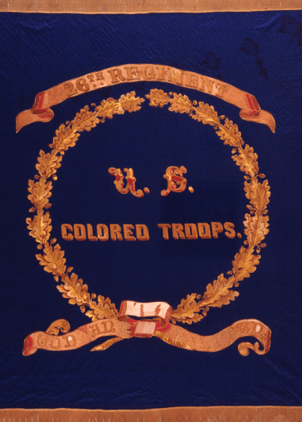 U.S. Colored Troops medal, 1864, Agnes Kane Callum Collection, Maryland State Archives (MSA SC 1090)