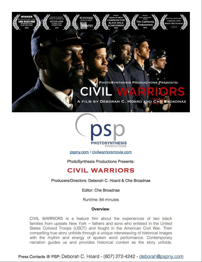 Press Kit - Civil Warriors