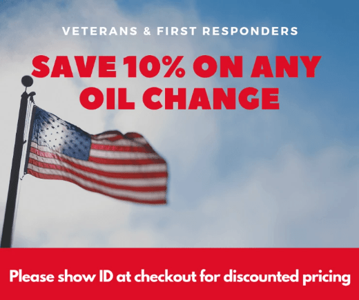 Sarasota OIl Change Coupon