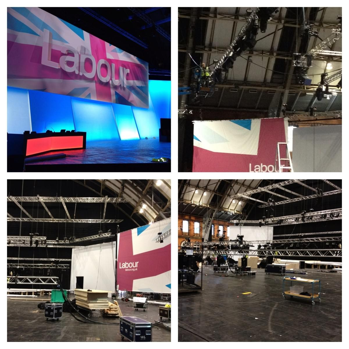 Labour Party Conference, Event Production