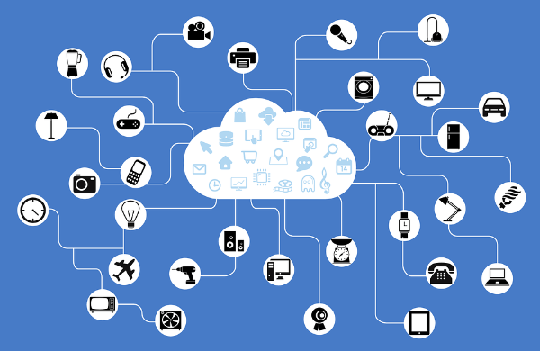 Devices connected through the Internet Of Things