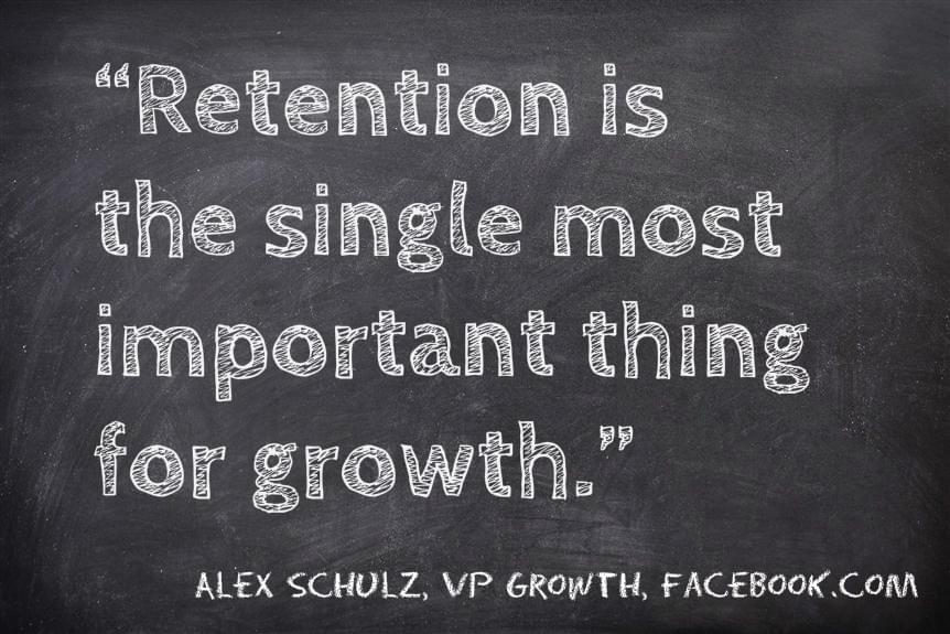 Retention quote from Alex Schultz image