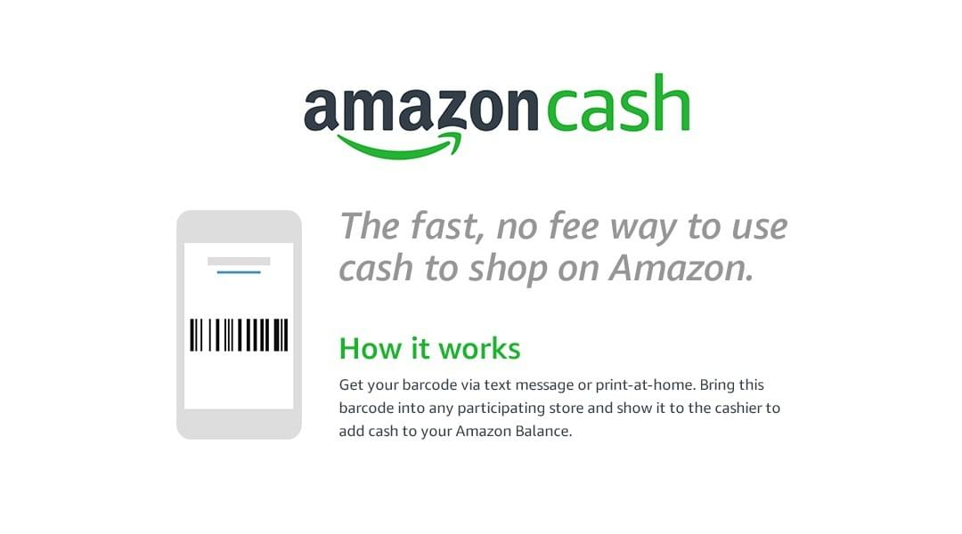 Amazon Cash, the fastest way to use cash while shopping on Amazon.