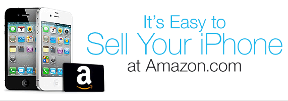 Trade-in your old phone at Amazon