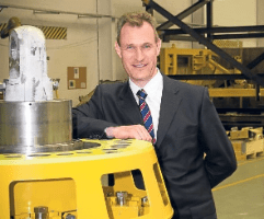 Drummond Lawson, CEO of Subsea Technologies