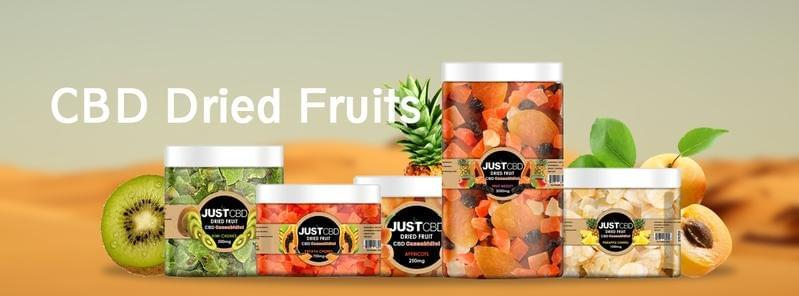 JUSTCBD Dried Fruit 750mg Jar
