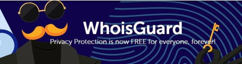 Free Whois Gaurd at Namecheap