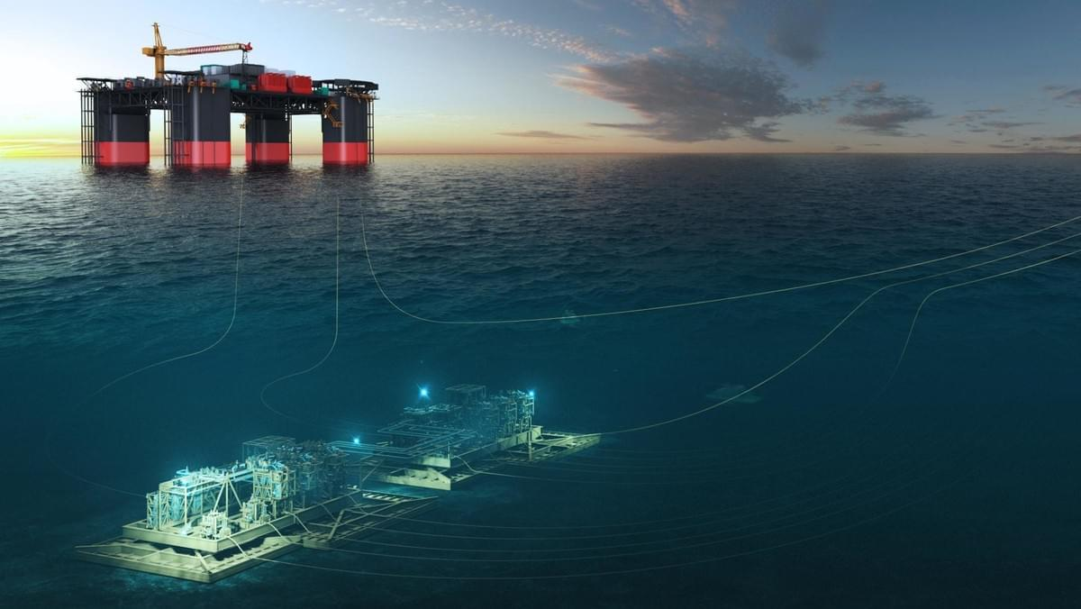 New generation of subsea technology  used in North Sea