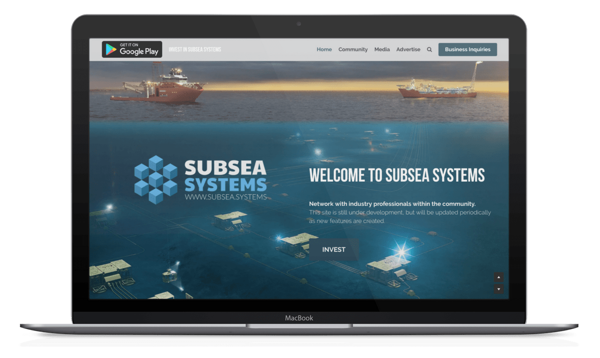 Advertise your offshore oil & gas company's products and capabilities at Subsea Systems