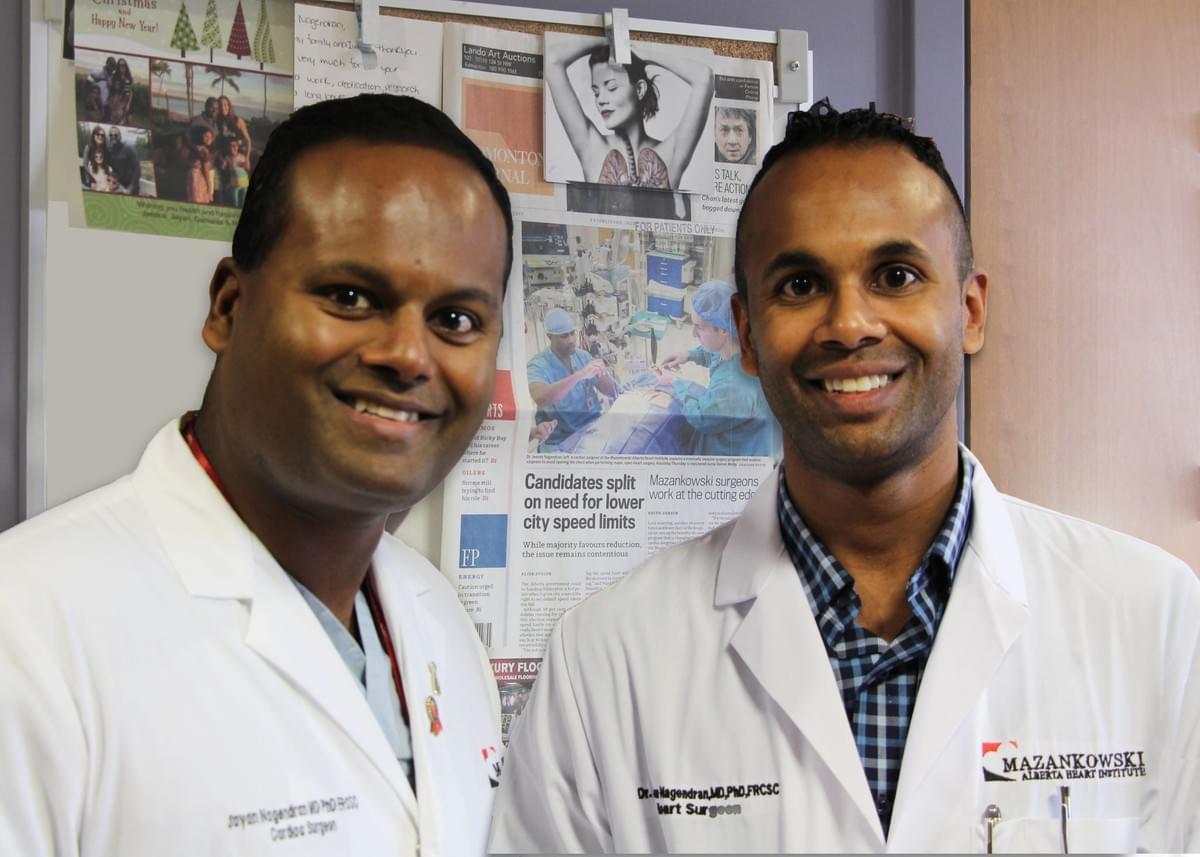 Meet The Doc The Nagendran Brothers Mazankowski Meet The Doc