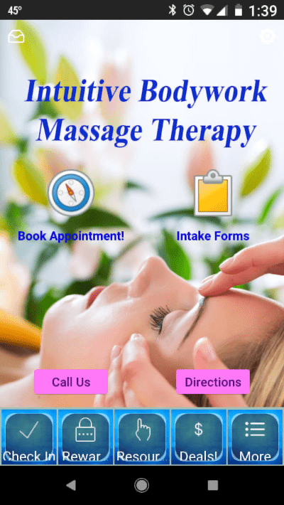 Go Massage Mobile App for Intuitive Bodywork Massage Therapy On Google Play