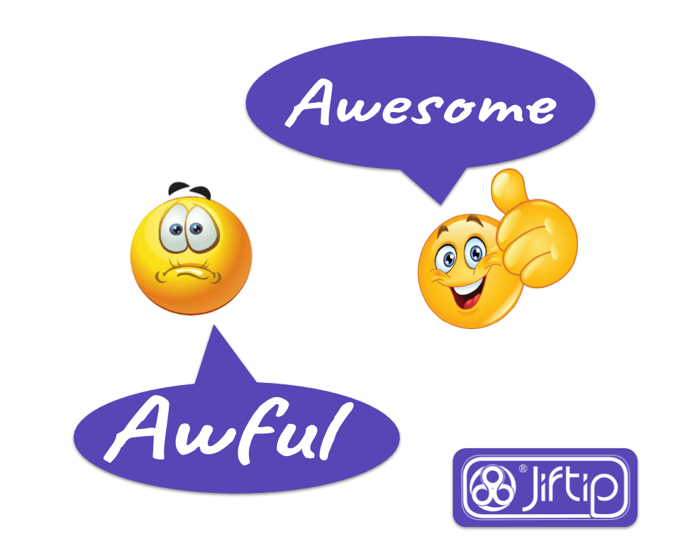Write your Jiftip Review - Awful or Awesome!