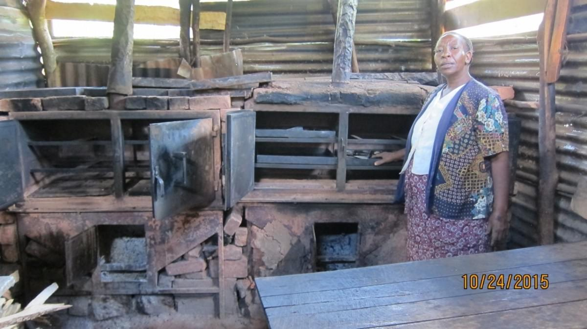 Salome Mbaabu, TIST Farmer, in her bakery