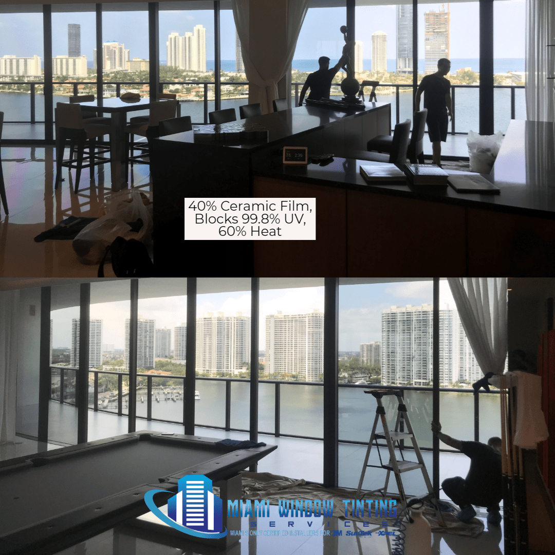 residential window tinting in Miami 33131, Home window tinting in Miami 33131, condo window tinting in Miami 33131