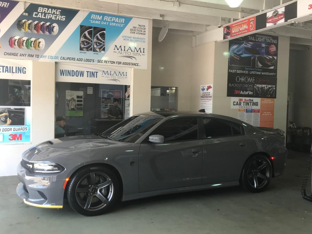 Dodge Charger Car window tinting Miami 33131, Dodge Challenger Car window tinting Miami 33131, Dodge Charger Car window tinting Miami Beach 33139