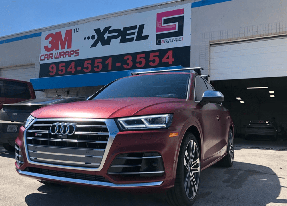 Xpel Stealth Fort Lauderdale, Audi Paint Protection Film Fort Lauderdale, Car paint protection for Audi in Fort Lauderdale, PPF for Audi in Fort Lauderdale, Xpel PPF Fort Lauderdale, rock chip protection cars Fort Lauderdale