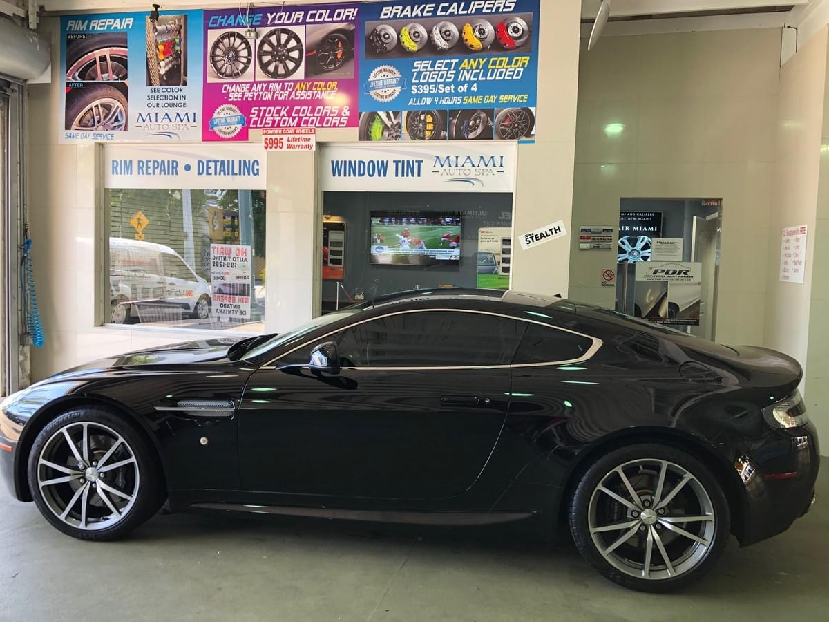 3M aston martin window tinting in Miami, Aston Martin window tinting Miami, Miami Beach, Bal Harbour, Coral Gables, Pinecrest, Surfside, South Beach, Brickell Key, Fisher Island, Key Biscayne