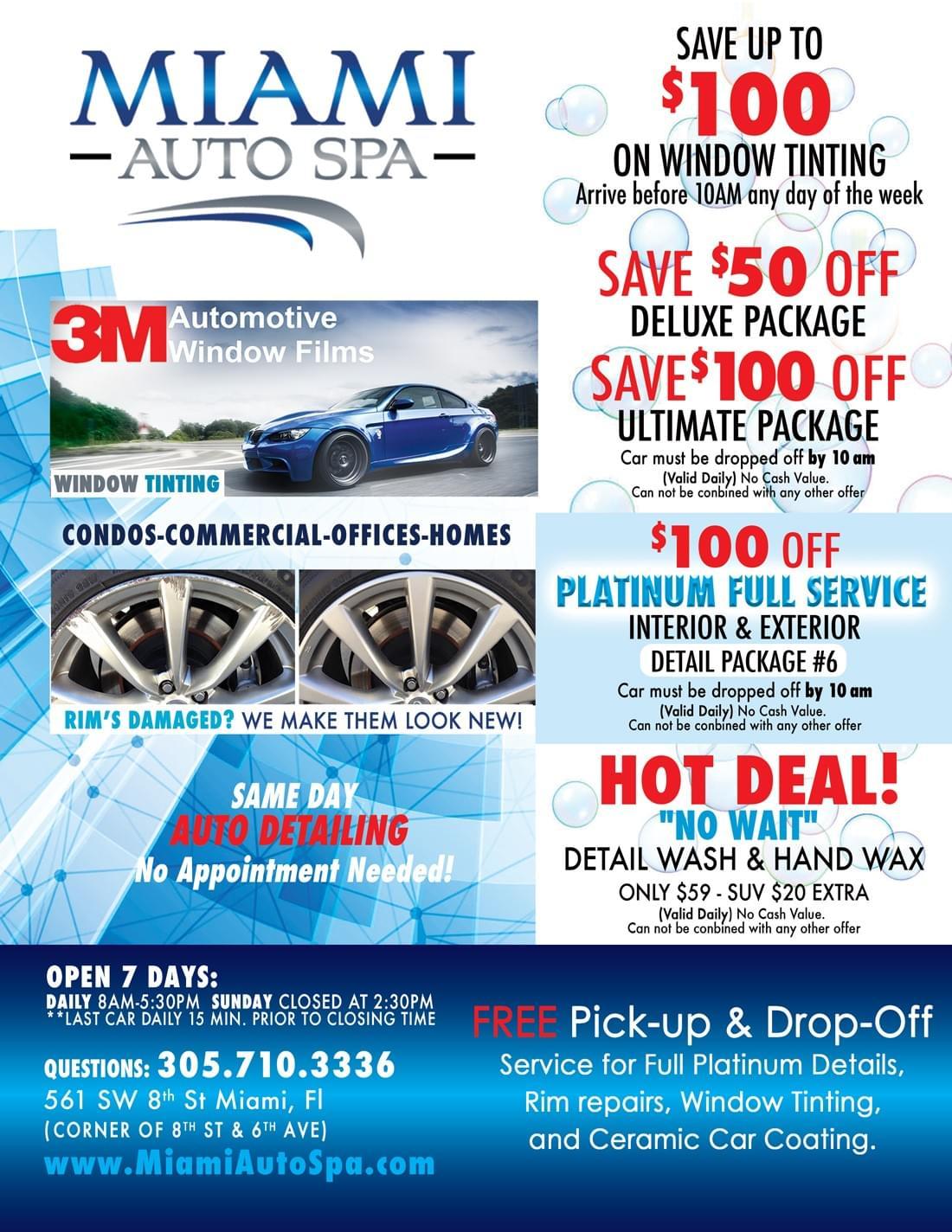 Car Wash Deals >> Car Detailing Coupons Miami 33131 Deals On Auto Detailing