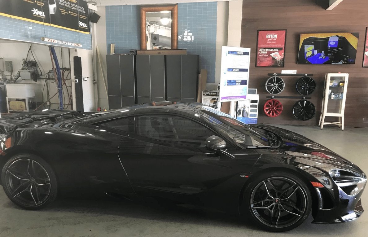 Mclaren Paint Protection film in Miami, Mclaren car paint protection Miami, Mclaren dealer protection packages Miami