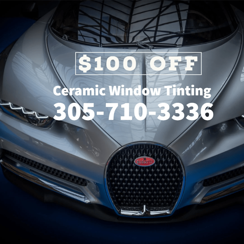 ceramic window tinting autos in Miami, ceramic window tinting autos in Miami Beach,