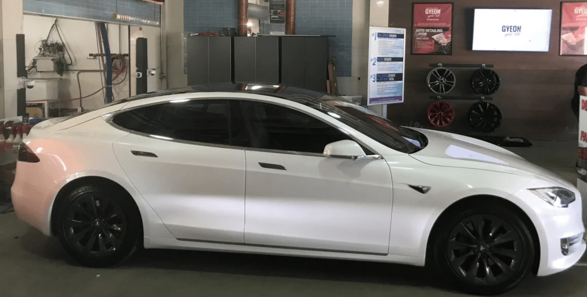 Tesla model S car window tinting Miami, Tesla Model S window tinting, Tesla model s paint protection Miami