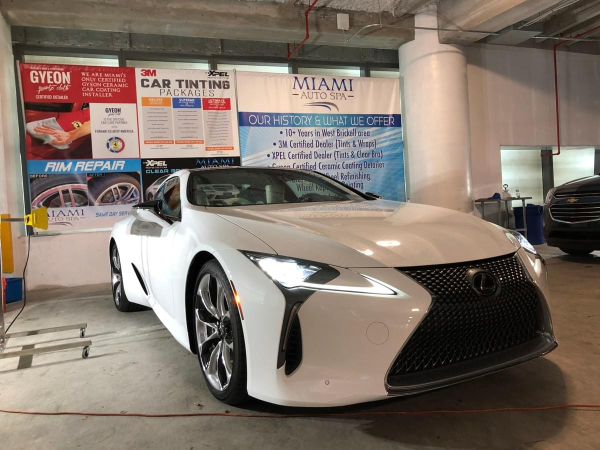 Lexus Xpel Car Paint Protection Film Miami, Xpel Ultimate for Lexus Miami, Xpel Stealth for Lexus Miami, Xpel Clear Bra Miami