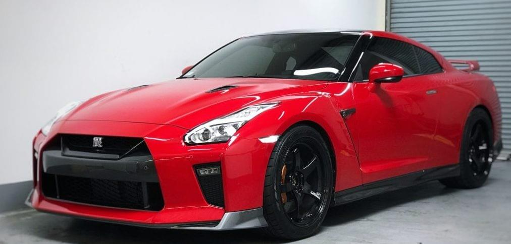 Xpel's Nissan GTR Car Paint Protection Film, Nissan GTR full car wrap Miami, PPF installer for Nissan GTR