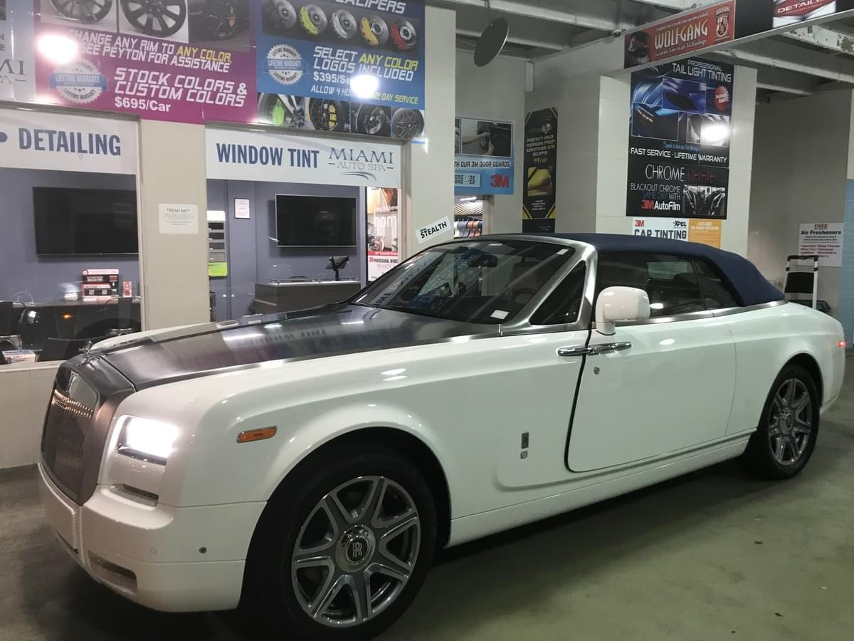 Xpel Fort Lauderdale Rolls Royce Clear Bra Paint Protection Film, Xpel Fort Lauderdale Rolls Royce Clear Bra Paint Protection Film,