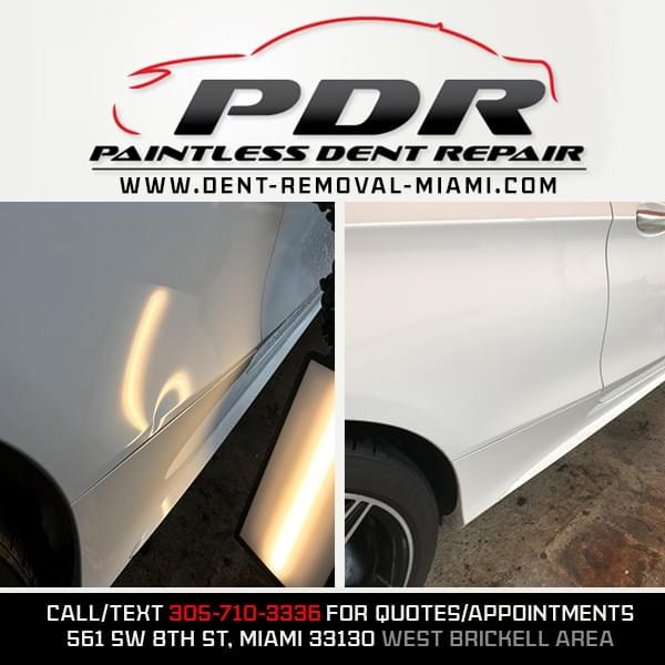 dent wizard Miami, door ding removal Miami, dent repair Miami