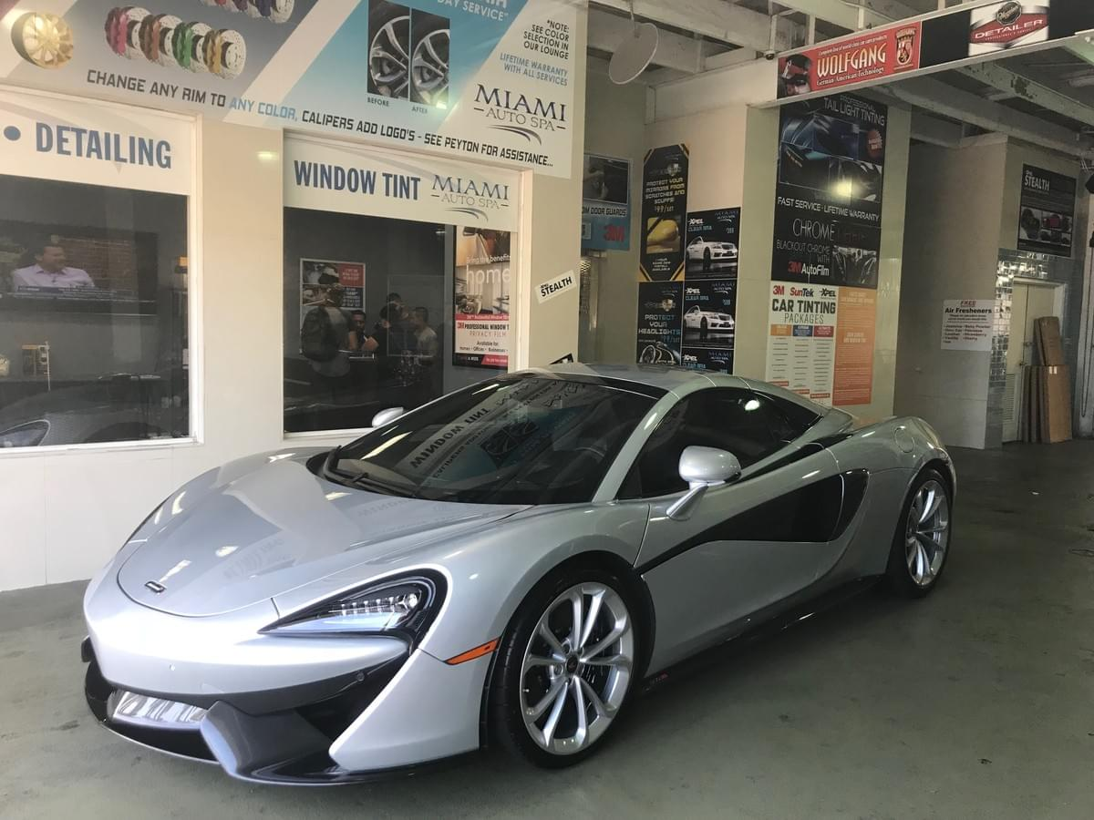 McLaren mobile window tinting Miami, McLaren mobile car tinting Miami, McLaren Mobile auto tinting Miami 33131