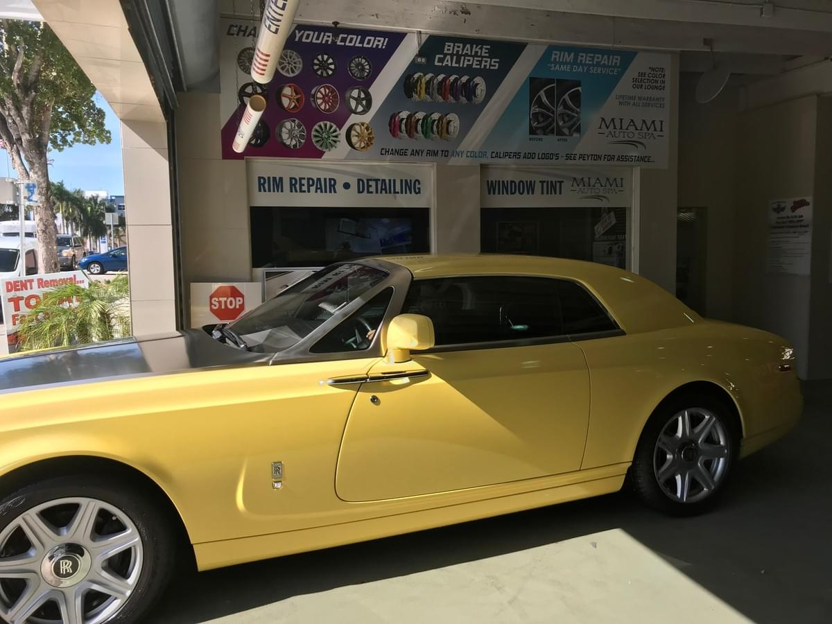 Rolls Royce window tinting Miami 33131, Rolls Royce car window tinting Miami 33131, Rolls Royce window tinting Miami Beach 33139, Luxury car window tinting Miami Beach 33139