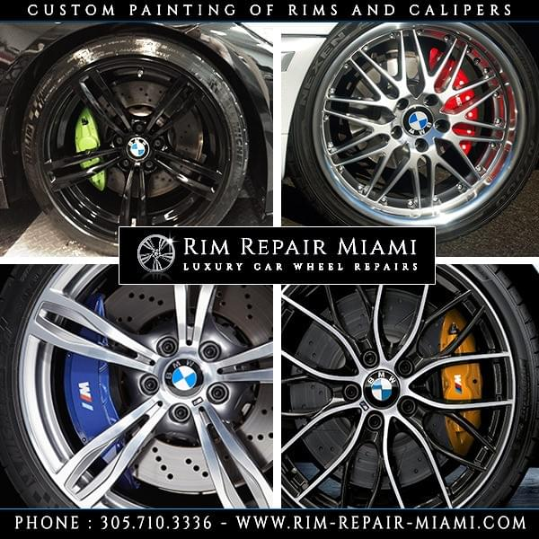 BMW Brake Caliper painting Miami
