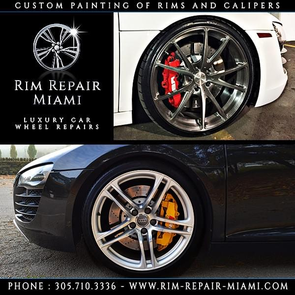 Audi Brake Caliper painting Miami