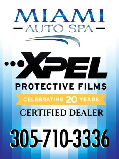 xpel clear bra for cars in Miami