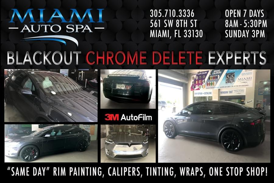 3M paint protection film in Miami 33131, Miami installer of clear bra film on cars