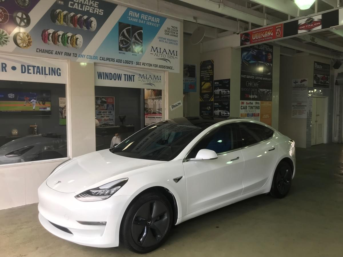 Tesla Car Wrap installers Miami 33130, Tesla Clear Bra installers Miami 33131