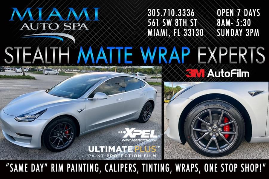 Tesla Clear Bra Miami, Tesla paint protection, Tesla Wrap Miami