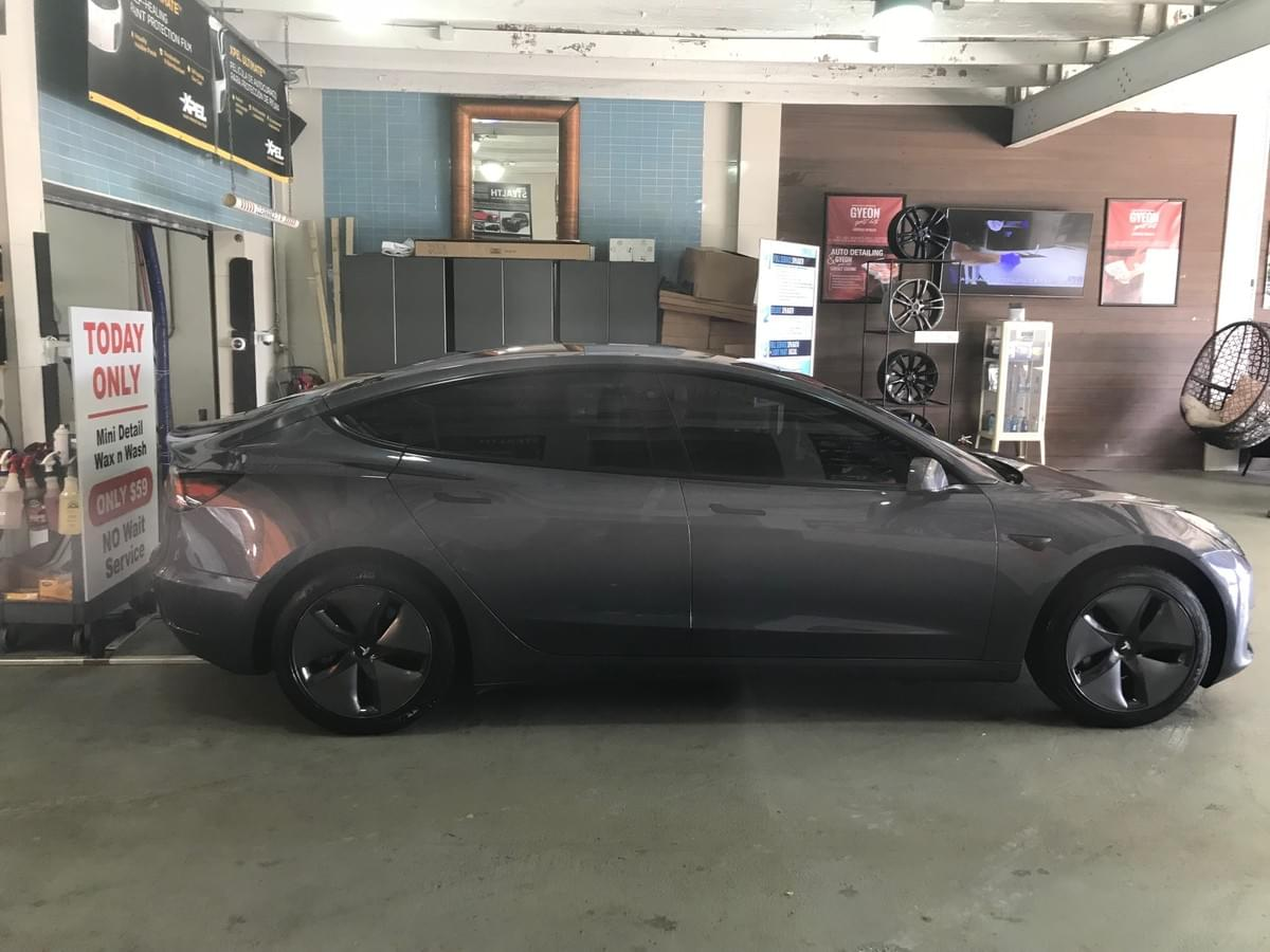 Tesla Window Tinting Xpel Ceramic Car Tinting World Of