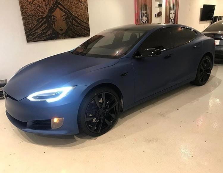 Tesla Window tinting in Miami, Tesla window tinting Florida, Tesla clear bra Miami, Tesla car wrap in Miami