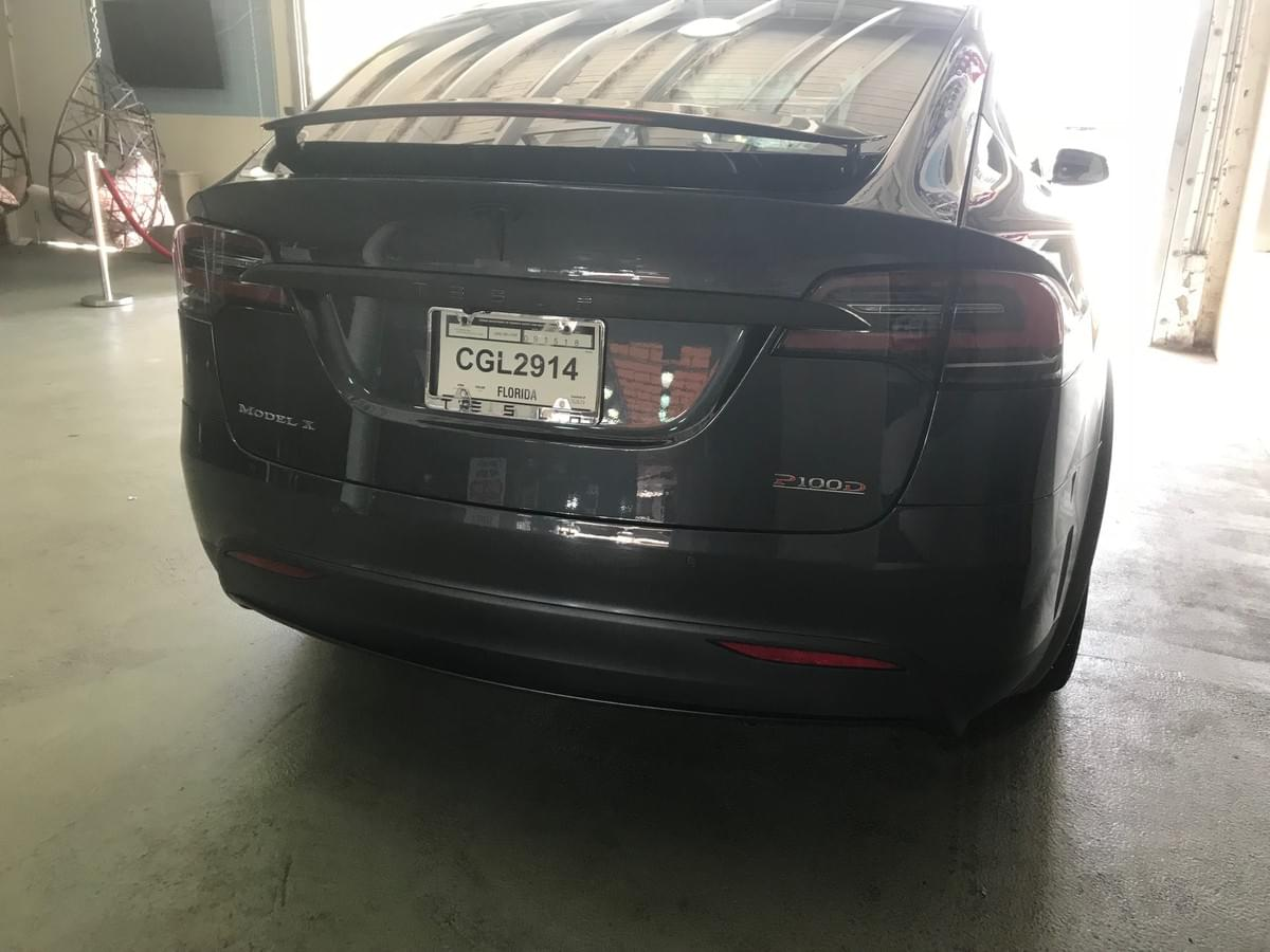 Tesla model x window tinting, Tesla model x glass tinting, Tesla model x chrome delete, Paint Tesla wheels