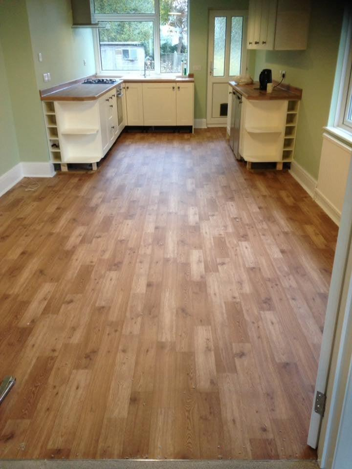 Kitchen Vinyl Laminate Flooring