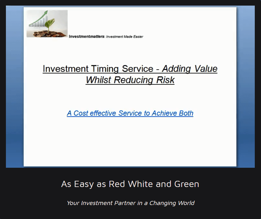 A Guide to the Investment Timing Service
