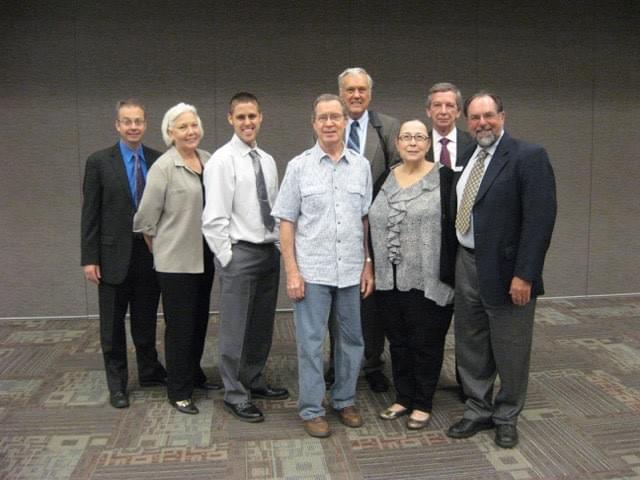 The End Op Landowners and Legal Team at Party Status Hearing, 2013