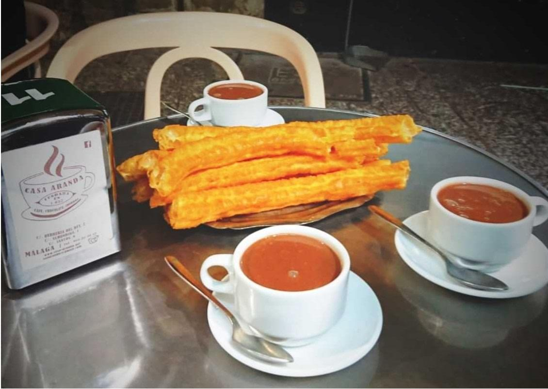 Choses à faire à Malaga - Essayer les churros con chocolate